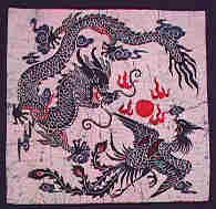 Dragon and Phoenix Batik